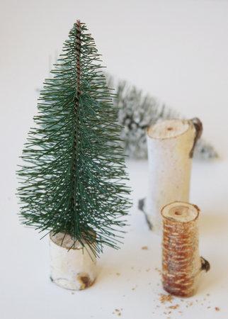 elochki-dlya-dekora-svadby-1 Мастер класс: мини елочки для декора свадьбы