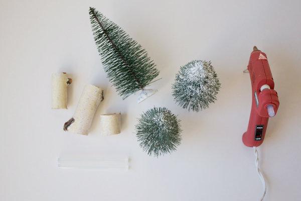 elochki-dlya-dekora-svadby-3 Мастер класс: мини елочки для декора свадьбы