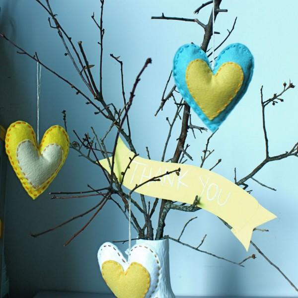 gotovye Мастер класс: подарки для гостей - ароматные сердечки