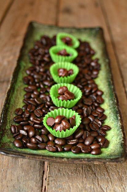 Мастер класс: кофе в шоколаде для свадебного Кенди Бара
