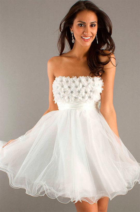 korotkie_svadebnye_platya_17 Короткие пышные свадебные платья