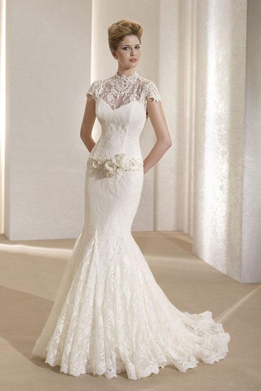 Самые запоминающиеся свадебные платья в модном сезоне 2014-2015 года