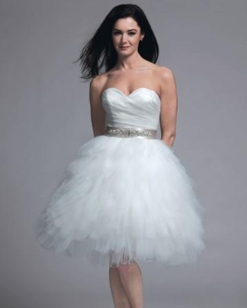 modern-trousseau-gelinlik-4 Короткие пышные свадебные платья