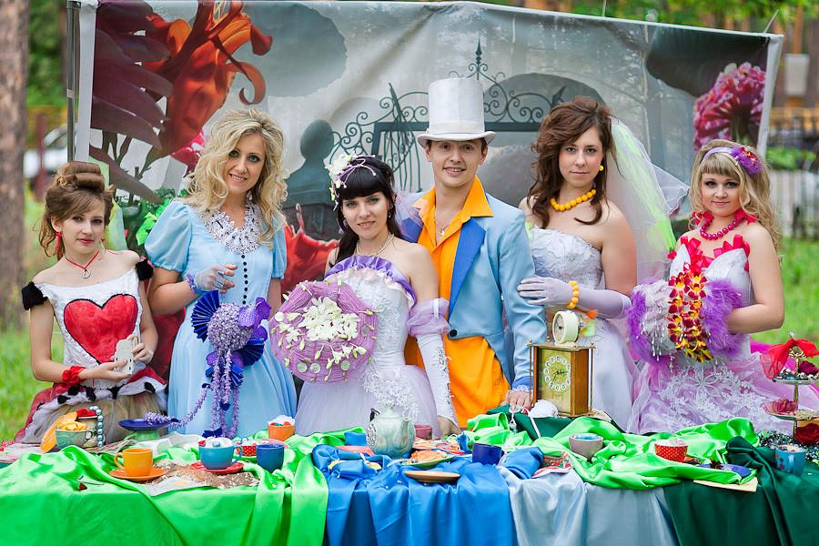 Свадьба в стиле сказки: общие принципы организации сказочной свадьбы