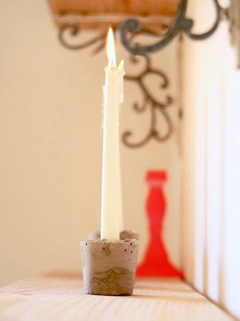 Мастер класс: необычные свадебные свечи для декора