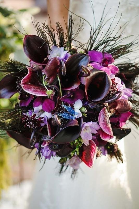 perya5 10 идей как использовать перья в декоре свадьбы