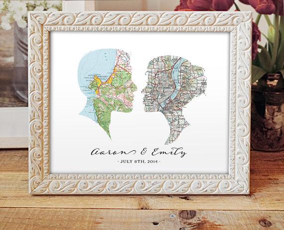 """portret-zheniha-i-nevesty-dekor-geografichesko-karty Свадьба в стиле """"географическая карта"""" для любителей путешествовать"""