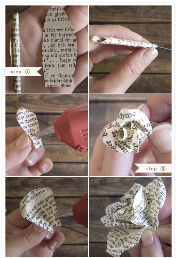 priklevanie-listikov Мастер класс: винтажный букет на свадьбу