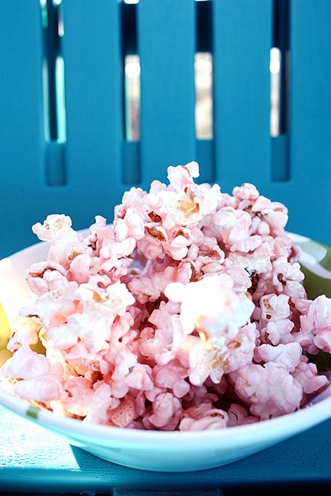 Мастер класс: розовый сладкий попкорн для Кенди Бара