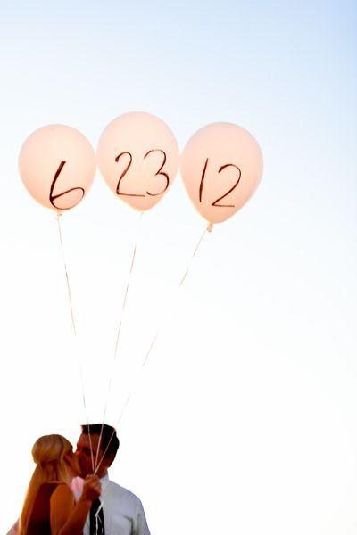 shariki12 Несколько идей как использовать воздушные шары в декоре свадьбы