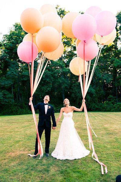 shariki5 Несколько идей как использовать воздушные шары в декоре свадьбы