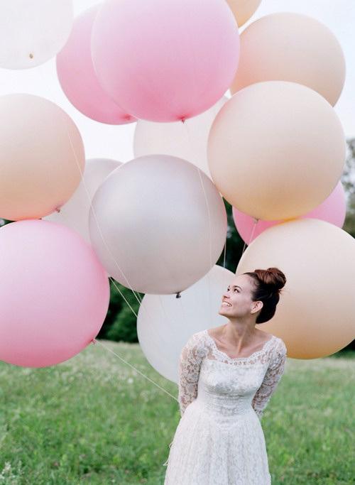 shariki6 Несколько идей как использовать воздушные шары в декоре свадьбы