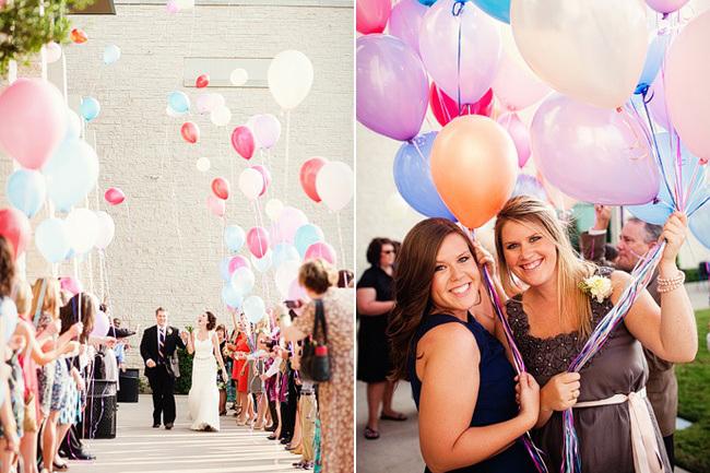 shariki8 Несколько идей как использовать воздушные шары в декоре свадьбы