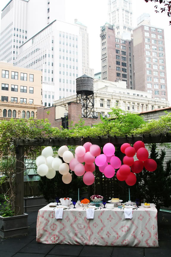 shariki9 Несколько идей как использовать воздушные шары в декоре свадьбы