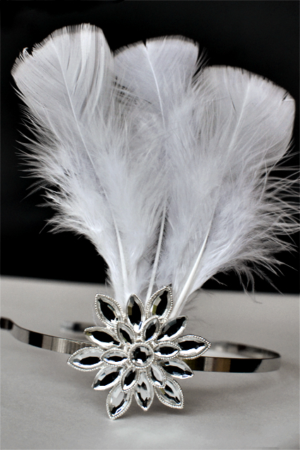 svadebnyj-obodok-s-peryami-4 Мастер класс: свадебный ободок с перьями