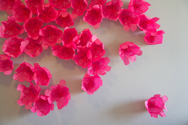 Мастер-класс: цветочный фон для свадебной фотосессии