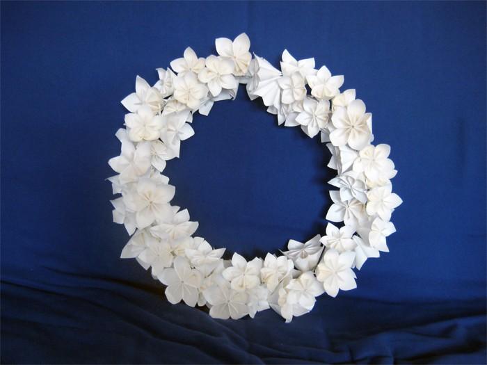Мастер-класс: декор из бумажных цветов для украшения свадьбы
