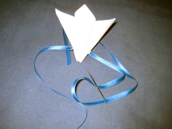 venok-iz-bumazhnyh-tsvetov7 Мастер-класс: декор из бумажных цветов для украшения свадьбы