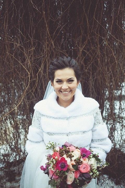 1945947x Свадебная шубка - главный аксессуар зимней свадьбы