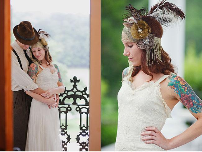 Татуировка у невесты : скрыть или показать?