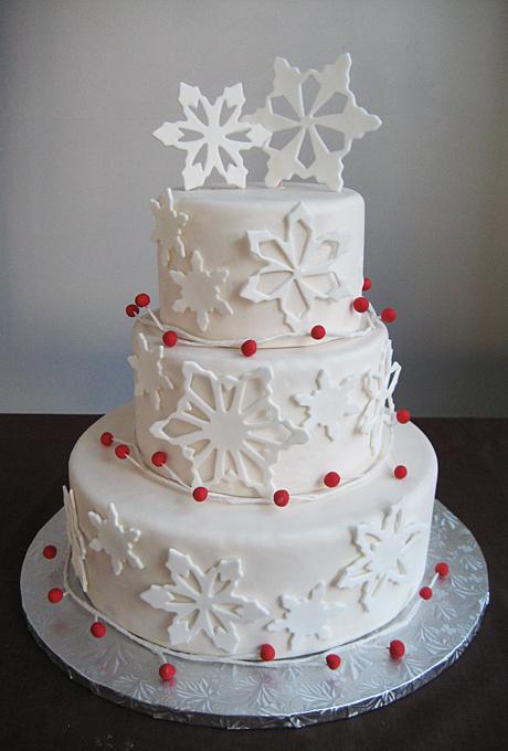 Potryasayushhie-torty-dlya-zimnej-svadby10 Потрясающие торты для зимней свадьбы