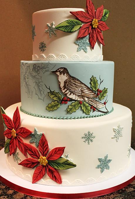 Potryasayushhie-torty-dlya-zimnej-svadby11 Потрясающие торты для зимней свадьбы