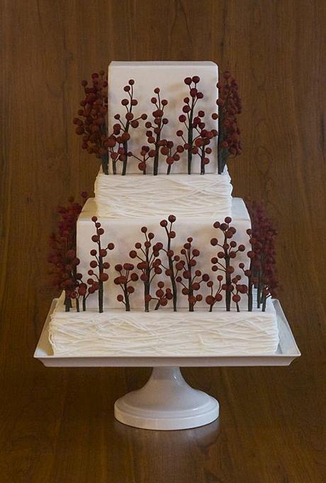 Potryasayushhie-torty-dlya-zimnej-svadby13 Потрясающие торты для зимней свадьбы
