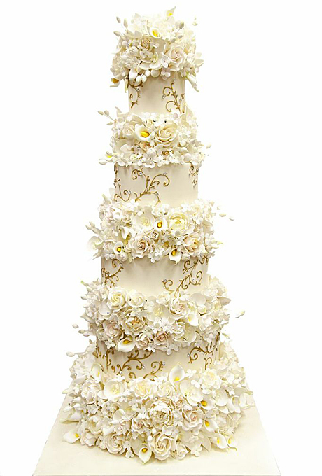 Potryasayushhie-torty-dlya-zimnej-svadby7 Потрясающие торты для зимней свадьбы