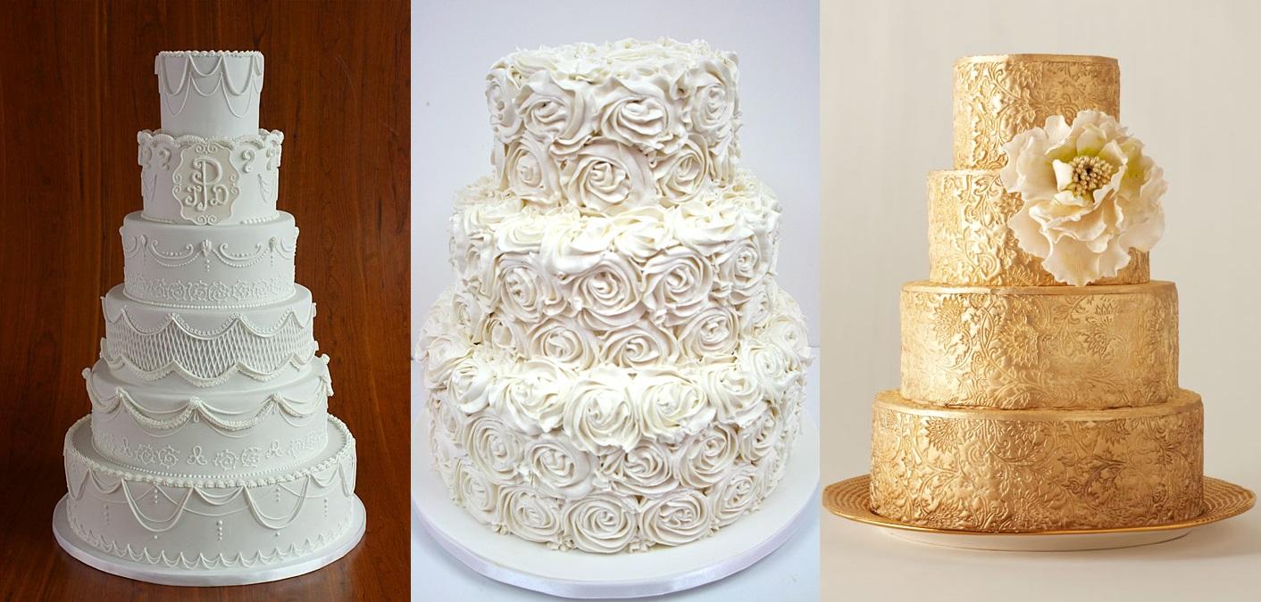 Потрясающие торты для зимней свадьбы