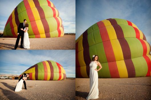 Свадьба в стиле полёта на воздушном шаре