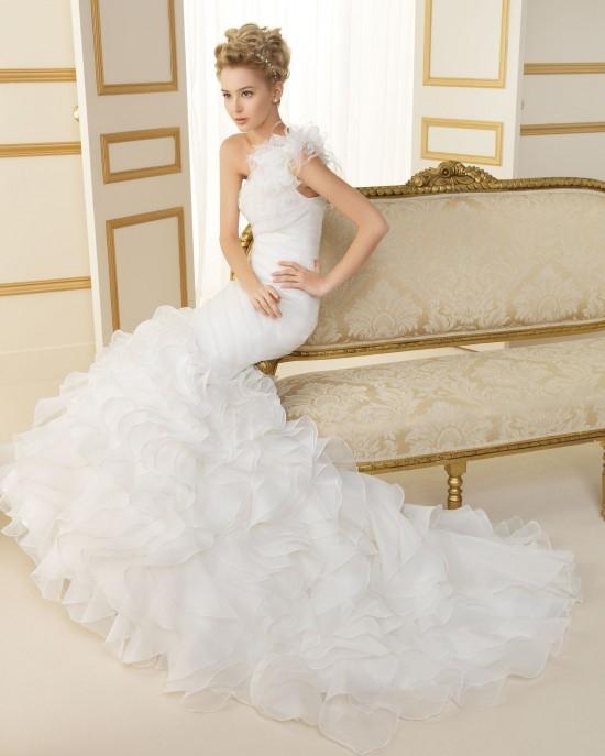 cc638b Свадебные  платья  Luna Novias