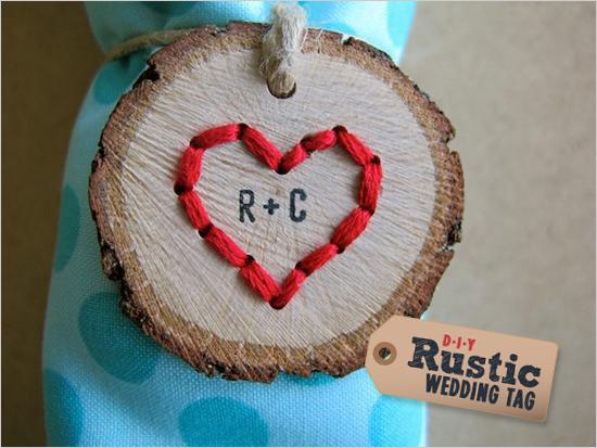 Мастер класс: свадебные медальоны-держатели для салфеток для рустиковой свадьбы