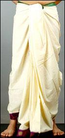dhoti Тамильская свадьба-великолепные традиции