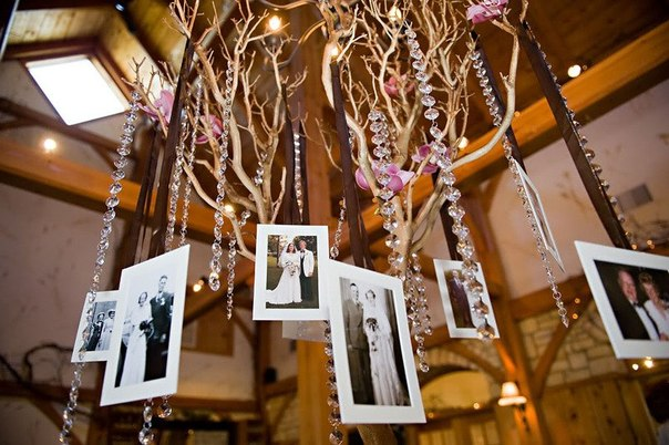 fotografii-v-dekore-svadbe-2 Фотографии в декоре свадьбы