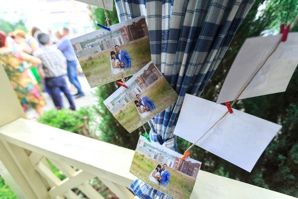 fotografii-v-dekore-svadbe-4 Фотографии в декоре свадьбы