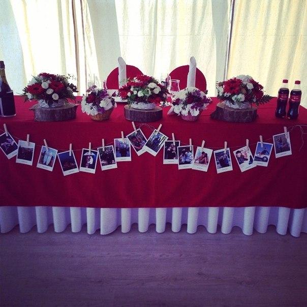 fotografii-v-dekore-svadbe-5 Фотографии в декоре свадьбы