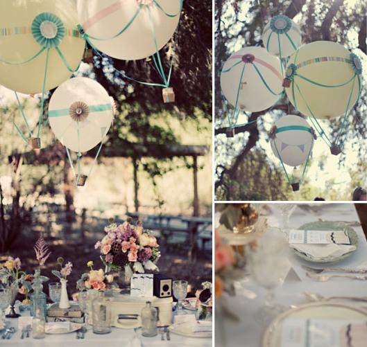 hot-air-ballon-wedding-01 Свадьба в стиле полёта на воздушном шаре
