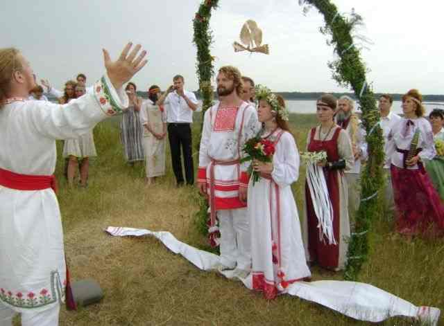 Идеи для торжества из старославянской свадьбы