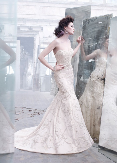 lz3262_1 Свадебные платья Lazaro