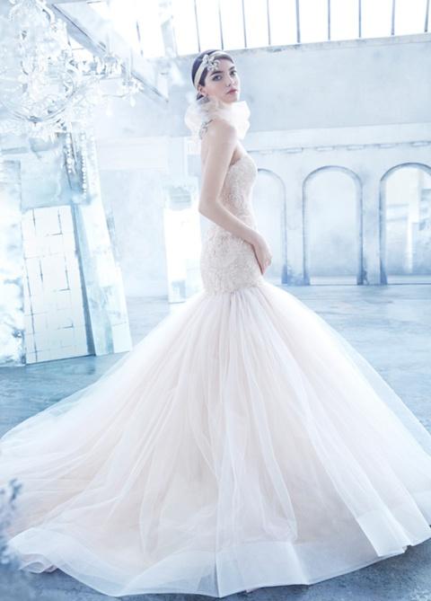 4fdc5a7ff290d69 Свадебные платья Lazaro из рубрики Свадебные платья - Все об ...