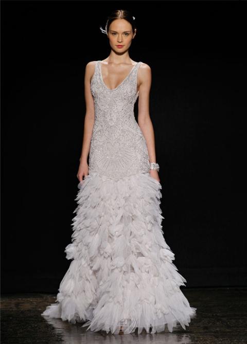 lz3406_1 Свадебные платья Lazaro