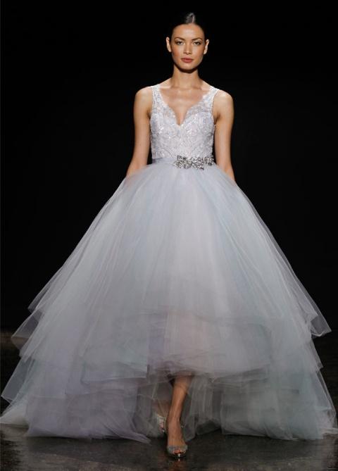 lz3414_1 Свадебные платья Lazaro