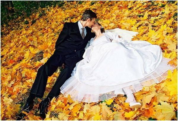 osen3 Красочная осенняя свадьба