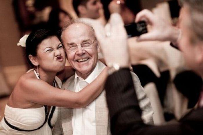 Свадебный конкурс: «Есть еще порох в пороховнице»