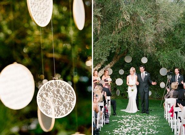 pyaltsa-v-dekore-svadby-3 Использование пяльц в декоре свадьбы