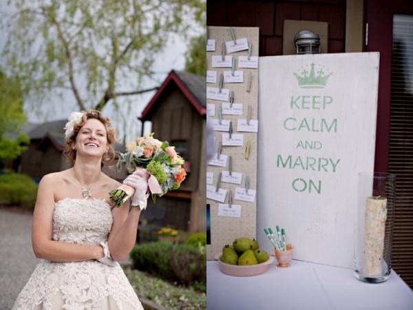 Сохраняйте спокойствие и украсьте свадьбу