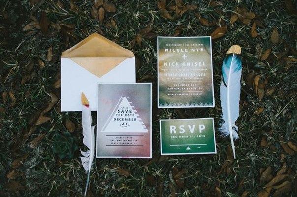 """svadba-v-stile-indejtsy-6 Свадьба в стиле """"Индейцы"""": используем этнический орнамент индейцев, птичьи перья и цветы"""