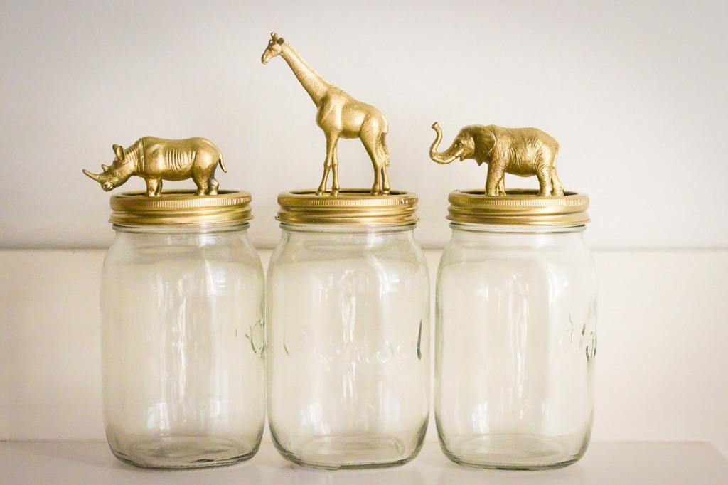 svadba-v-stile-zolotye-figurki-1 Свадебный декор - золотые фигурки, делаем самостоятельно при помощи аэрозольной краски