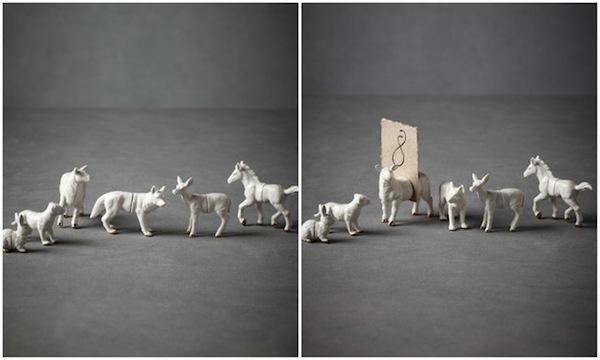 svadba-v-stile-zolotye-figurki-6 Свадебный декор - золотые фигурки, делаем самостоятельно при помощи аэрозольной краски
