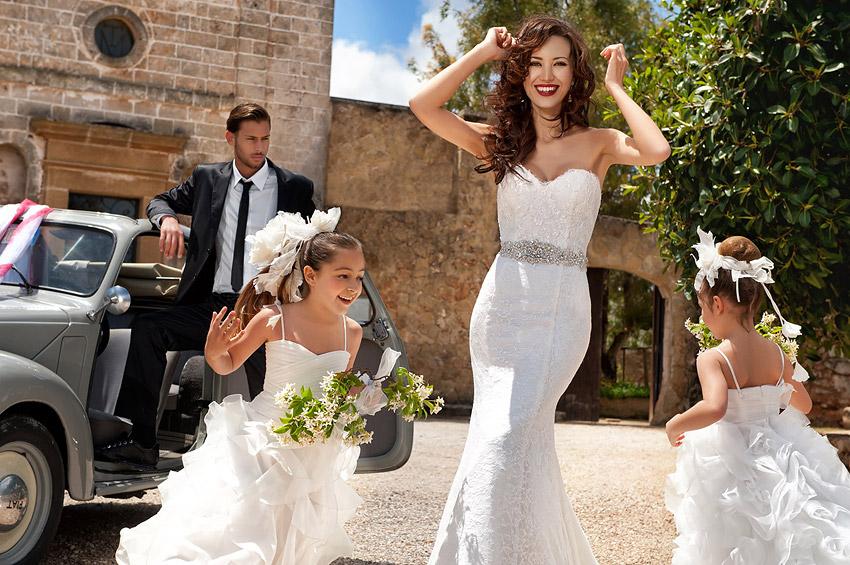 Свадебное платье – футляр
